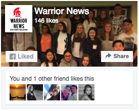 Warrior News Facebook Page