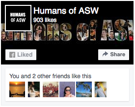 Humans of ASW